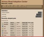 Victory Road Adoption Center